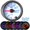 7 Color 30 PSI Boost Gauge - WHITE 2 1/16""