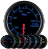 7 Color Fuel Pressure Gauge Black