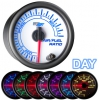 7 Color Air/Fuel Ratio Gauge - White