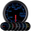 7 Color Transmission Temperature Gauge - Black