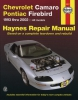 93-02 Firebird Haynes Repair Manual
