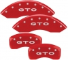 04-06 GTO Brake Caliper Covers RED