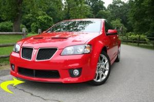 09 Gxp Front Bumper Lip Insert Gtog8ta Com Late Model Pontiac