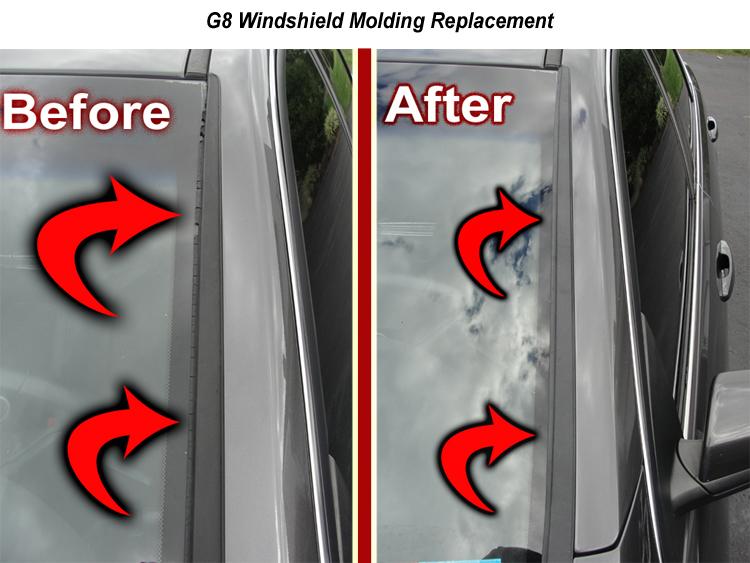 08-09 Pontiac G8 Door Seal Weatherstrip Left Side REAR Driver