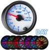 7 Color Volts Gauge- White 2 1/16""