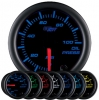7 Color Oil Pressure Gauge - BLACK 2 1/16""