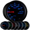 7 Color 30 PSI Boost Gauge - BLACK 2 1/16""