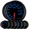 7 Color Air Pressure Gauge - BLACK 2 1/16""