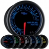 7 Color Air/Fuel Ratio Gauge - Black