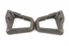 93-02 Firebird GRAPHITE Seat Belt Guides Convertible