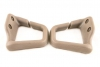 93-02 Firebird NEUTRAL TAN Seat Belt Guides Convertible