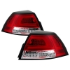 08-09 G8 Spyder Red Clear Tail Lights Version 2