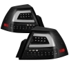 08-09 G8 Spyder Black Tail Lights Version 2