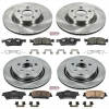 08-09 G8 Powerstop Brake Rotor Pad Kit