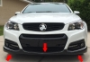14-15 Chevy SS Holden Sport Armour Spoiler Kit