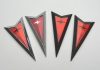 04-06 GTO Front/Rear Arrowheads Emblem Kit