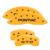 "04-06 ""Pontiac"" GTO Caliper Covers YELLOW"