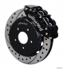"04-06 GTO Wilwood Big Brake Front Kit 13"" Drilled & Slotted Rotors"