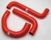 2004 GTO Silicone Radiator Hose Kit - Red